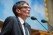 Karl Vogler, CSP, 59, Lungern, Rechtsanwalt und Notar. (Bild: Keystone)