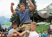 Kilian Zberg gewann den Nachwuchswettbewerb. (Bild: Paul Gwerder (Erstfeld, 20. August 2017))
