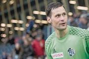 David Zibung, hier noch die Nummer eins, möchte seinen Vertrag bis 2019 erfüllen. (Bild: Urs Flüeler/Keystone (Luzern, 18. Februar 2017))