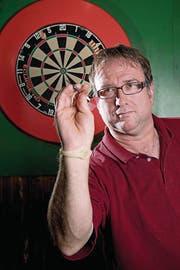 Patrick Rey, Dartspieler aus Kriens (Bild: Eveline Beerkircher (Neue LZ) Bachmann (Neue Luzerner Zeitung))