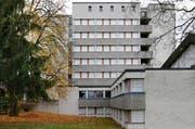 In den Räumen des ehemaligen Seminars des Klosters Heiligkreuz in Cham hat man Pläne für ein Projekt. (Bild: Stefan Kaiser / Neue ZZ)