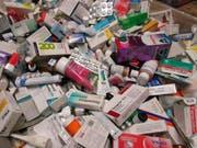 Auffallend viele Medikamente wurden ungeöffnet oder nur teilweise gebraucht entsorgt. (Bild: PD)
