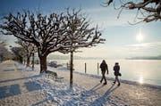 Am Montagabend soll es im Flachland den ersten Schnee dieses Winters geben. (Bild: Archiv LZ)