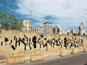Ein Werk von Adrian Gander in Beirut. (Bild: PD)