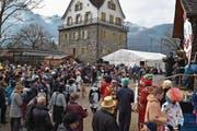 Viele Besucher fanden sich am Sonntag im Rudenzpark in Flüelen ein. (Bild: EG (Flüelen, 11. 2. 2018))