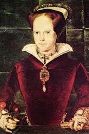 Im 16. Jahrhundert schmückt die «Peregrina» Maria Tudor. (Bild: Getty)