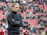 Peter Knäbel, der ehemalige Sportchef und Interimstrainer des Hamburger SV: Wird er der neue CEO des FC Luzern? (Bild: Keystone/Caroline Seidel)