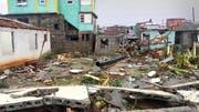 Der verheerende Hurrikan zerstörte vergangene Woche 80 Prozent der Häuser in Baracoa.Bilder: PD