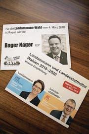 Zumindest die Landammannwahl gibt im Kanton Uri so viel zu reden wie schon sehr lange nicht mehr. (Bild: Bruno Arnold (Altdorf, 1. März 2018))