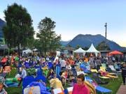 Das Kinospektakel im Strandbad Buochs-Ennetbürgen wurde von 3500 Personen besucht, deutlich weniger als im vergangenen Jahr. (Bild: PD)