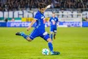 Erzielte in der 73. Minute das einzige Tor: Francisco Rodriguez. (Bild: Philipp Schmidli (Luzern, 5 November 2017))