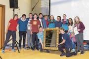 Die Mitglieder des erstmals siegreichen Kanu-Clubs Nidwalden. (Bild: PD)