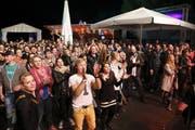 Lakeside-Festival in Hergiswil: findet 2016 wieder statt. (Bild: André A. Niederberger)