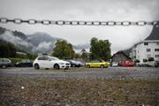 Um dieses Grundstück hinter dem historischen Landsgemeindring geht es an der Abstimmung vom 18. Oktober. (Bild Corinne Glanzmann)