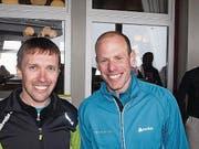 Bruno Joller und Christian Stebler. (Bild: Kurt Liembd (NZ) (Nidwaldner Zeitung))