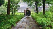 Sabine Timoteos Ankunft im japanischen Zen-Kloster: Geredet wird wenig, gelernt durch Zuschauen. (Bild: Look Now/PD)