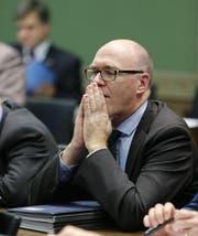 CVP-Parteipräsident Martin Pfister: «Wir sind bereit, zu harten, drastischen Massnahmen.» (Bild Stefan Kaiser)