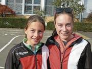 Zeigten über die ganze Saison konstant gute Läufe: Leonie und Aline Mathis. (Bild: PD)