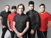 Billy Talent sind eine der wenigen rockigen Bands, die auch die grossen Hallen füllen. (Bild: PD)
