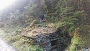 Dieser «Nytler» am Weg zur Alp Äsch in Unterschächen ist renoviert worden und erstrahlt seit Ende 2017 in neuem Glanz. (Bild: PD (Unterschächen, Herbst 2016))