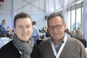 Raphaël Comte (links) und Paul Federer. (Bild: Martin Uebelhart / Neue OZ)