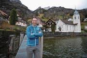 Andreas Gisler ist im September 2016 nach Bauen gezogen, seit Mai 2017 im Gemeinderat und seit dem 1. Januar Gemeindepräsident. (Bild: Urs Hanhart (Bauen, 3. Januar 2018))