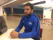 FCZ-Trainer Uli Forte am Freitagmittag in der Zürcher Saalsporthalle. (Bild: Daniel Wyrsch (Zürich, 16.2.2018))