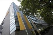 Der Hauptsitz der Postfinance am Nordring in Bern. Zwei Bereiche des Betriebs erhalten eine neue Leiterin. (Bild: PD)