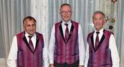Die Geehrten (von links): Josef Walker, Stefan Flury und Rudolf Planzer. (Bild: PD (Altdorf, 23. November 2017))