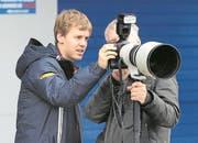 Daniel Reinhard zusammen mit Sebastian Vettel. (Bild: PD)