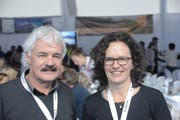 Peter Lienert und Ruth Koch. (Bild: Martin Uebelhart / Neue OZ)
