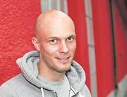 Sascha Imholz, Spielertrainer FC Gunzwil, ehemaliger Spieler beim FC Luzern. (Bild: Florian Arnold)
