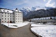 Blick auf das Kloster Engelberg. (Bild: Corinne Glanzmann (Engelberg, 25. März 2014))