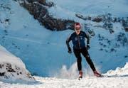 Hat den Trainingsumfang stark erhöht: der 18-jährige Cyril Fähndrich aus dem Eigenthal. (Bild: Patrick Marbacher (Engelberg, 15. Dezember 2017))