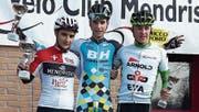 Cyrill Leu (rechts) freut sich über den 3. Rang. (Bild: PD)