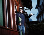 Matthias Iten schultert bereits morgen wieder seine Ski für drei Rennen im Salzburgerland. (Bild: Stefan Kaiser (Unterägeri, 2. Januar 2018))
