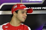 Der Brasilianer Felipe Massa. (Bild: Keystone)