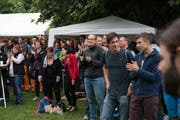 Geschätzte 1000 Besucher konnte das «Brass on stage» verzeichnen. (Bild: Izedin Arnautovic (Hergiswil, 12. August 2017))