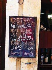 Die kroatische Küche hat sich auf Touristen eingestellt. (Bild: Geraldine Friedrich)