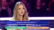 Sie wusste die 50-Euro-Frage nicht: Studentin Tanja Fuss. (Bild: Screenshot RTL)
