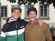 Michael Achermann (links) und Remo Flüeler, beide aus Stans. (Bild: Kurt Liembd (NZ) (Nidwaldner Zeitung))