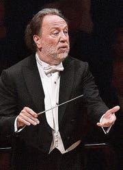 Vielfalt in drei Programmen: Chefdirigent Riccardo Chailly. (Bild: LF/Peter Fischli)