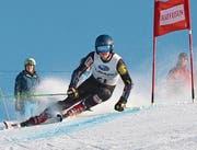 Junior David Ziegler platzierte sich zweimal unter den besten Zehn. Archivbild: Urner Skiverband