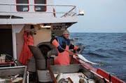 Kabeljau-Fischer Børge Iversen vermietet sein Boot auch an Touristen.