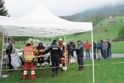 In der Kurswoche vom 24. bis 28. April in Alpnach erhalten angehende Offiziere und Kommandanten ihr Rüstzeug für eine Leitungsfunktion in der Feuerwehr. (Bild: Richard Greuter (27. April 2017))