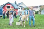 Auch für die kleinsten Besucher hielt das traditionelle Dorffest zahlreiche Attraktionen bereit. (Bild: Maria Schmid (Auw, 23. Juli 2017))