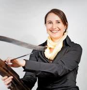 Martina Stadler hat mit der interaktiven Spurensuche Tatort Tell im Urner Tourismus Zeichen gesetzt.Bild: PD