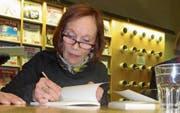 Dichterin Leonor Gnos schreibt fern der Heimat Gedichte. (Bild: Otto Odermatt)