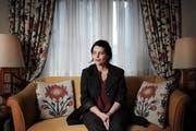 Die Israelische Komponistin Chaya Czernowin, Fotografiert im Hotel Wilden Mann in Luzern. (Bild: Boris Bürgisser / Neue LZ)