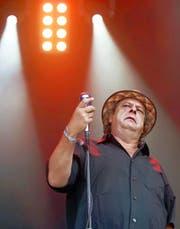 Endo Anaconda bei einem Auftritt am Gurten-Festival Bern. Am Sonntag ist er in Altdorf zu Gast. Keystone / Peter Klaunzer